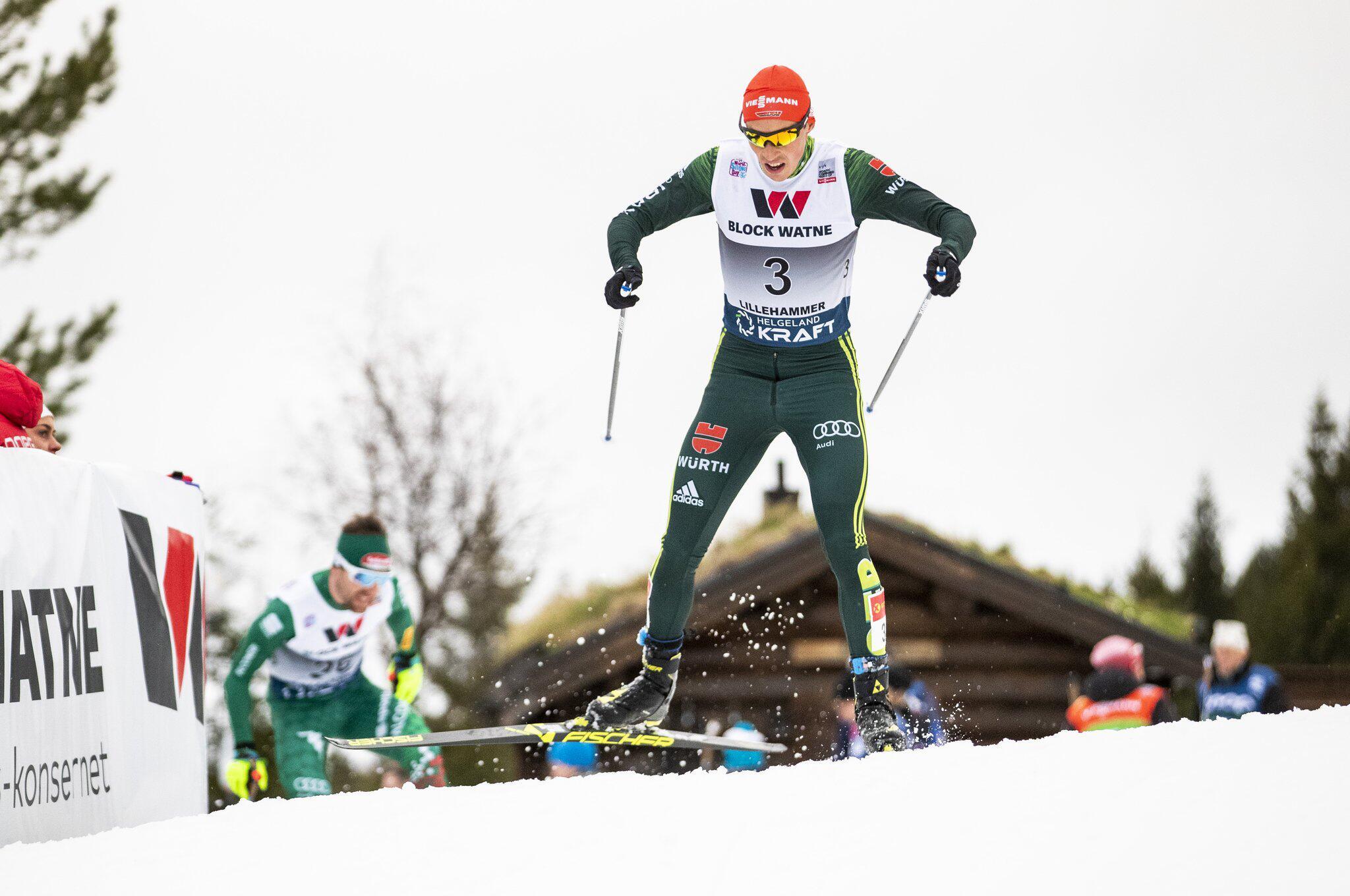 Bild zu Ski nordisch, Kombination, Weltcup, Lillehammer, Eric Frenzel