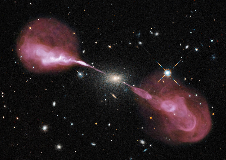 Bild zu Weltraum, Bild, Hubble, schwarzes Loch
