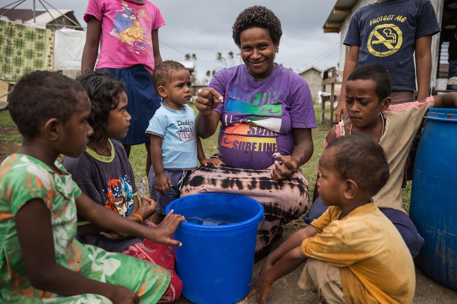 Bild zu UNICEF Wasserreinigungstabletten, UNICEF Nothilfe