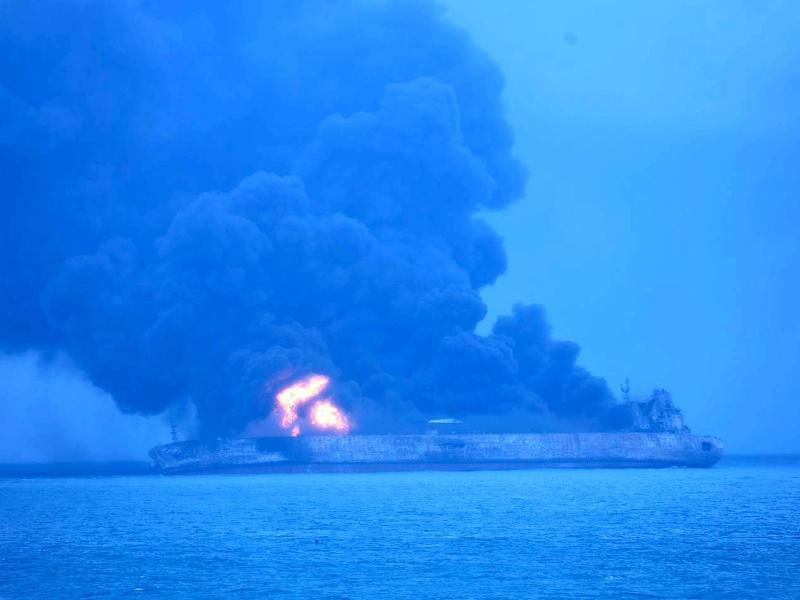 Bild zu Schiffskollision
