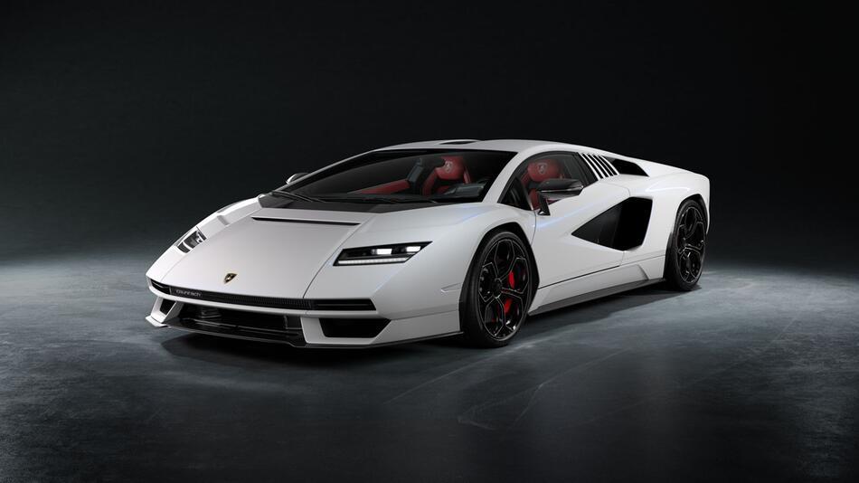 Lamborghini Countach kommt als elektrifizierte Kleinserie