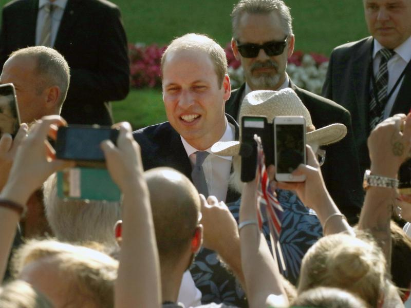 Bild zu Prinz William in NRW