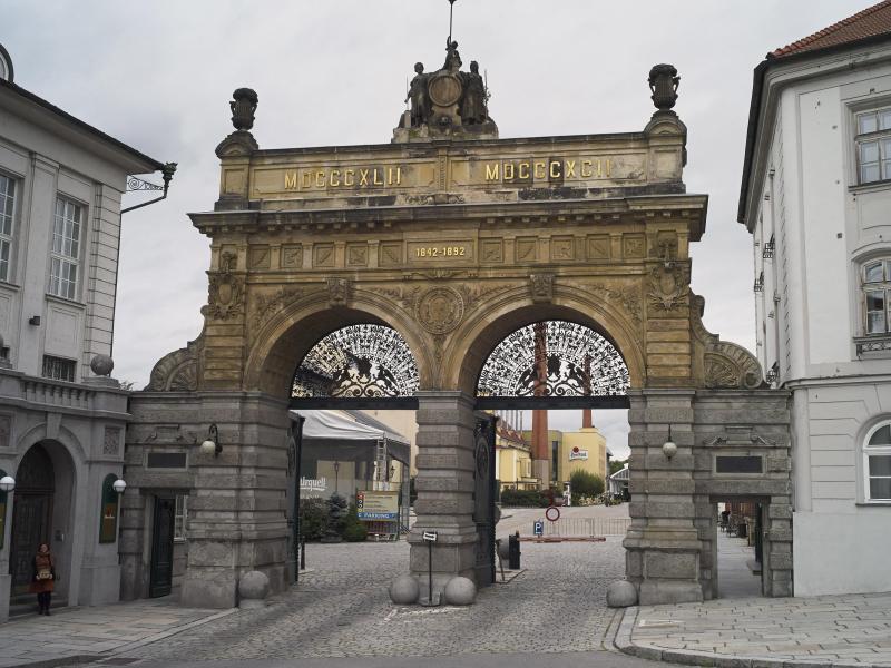 Bild zu Eingang Pilsner-Urquell-Brauerei