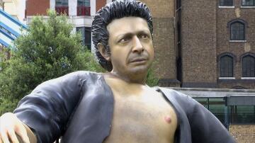 Bild zu Jeff Goldblum, Statue,