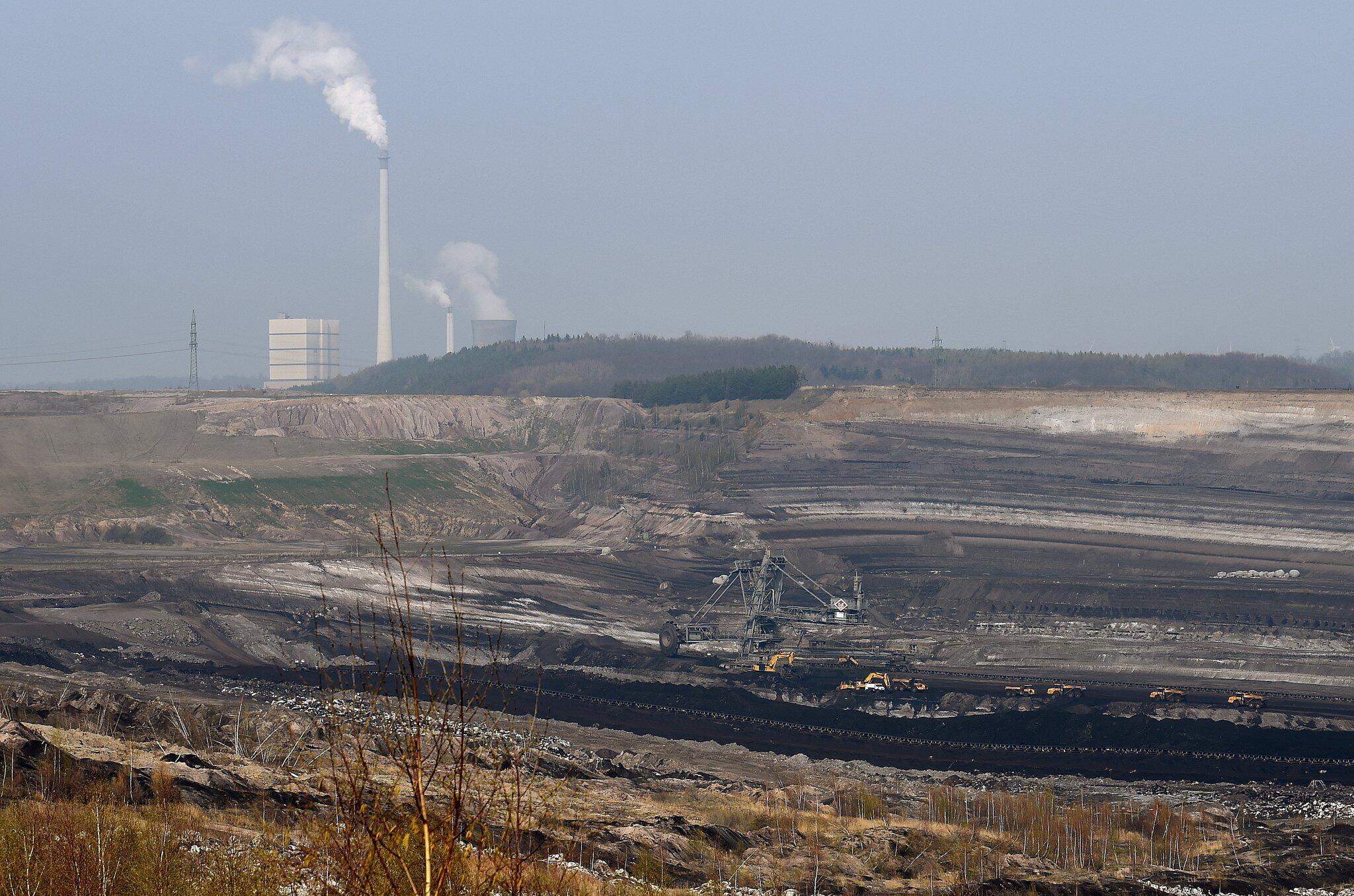 Bild zu Tagebau Schöningen bei Helmstedt