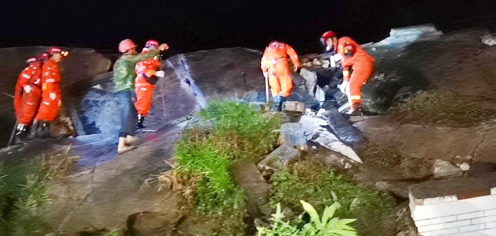 Bild zu Erdbeben in Chinas Südwesten