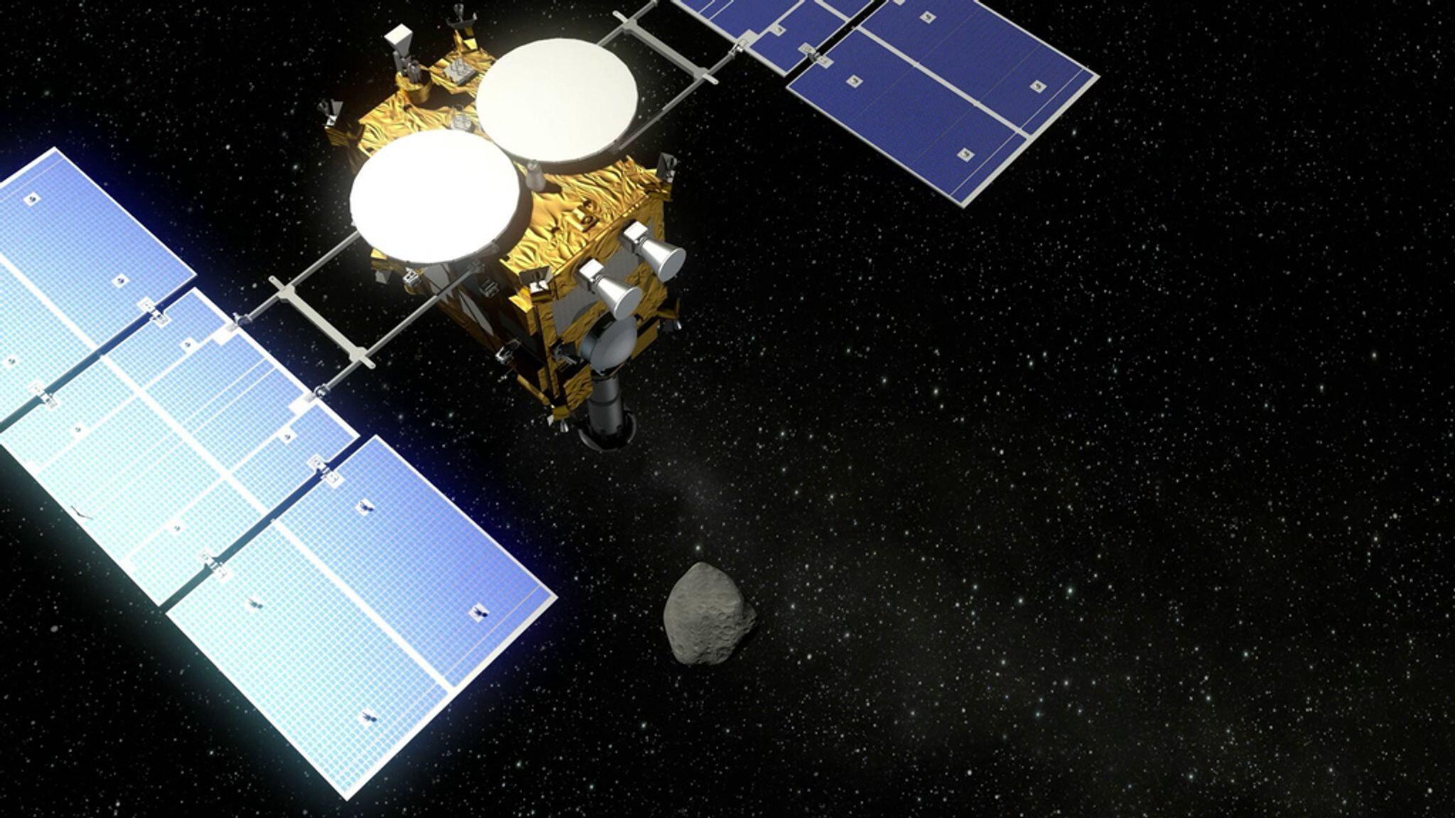 Bild zu Japanische Raumsonde Hayabusa 2