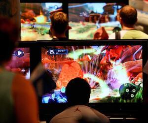 Computerspieler bei der Gamescom