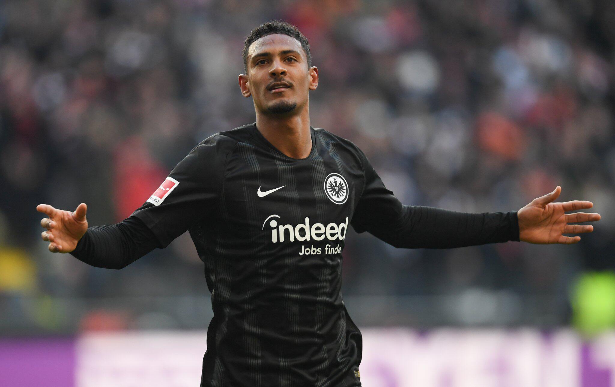 Bild zu Eintracht Frankfurt, Sébastien Haller, Bundesliga