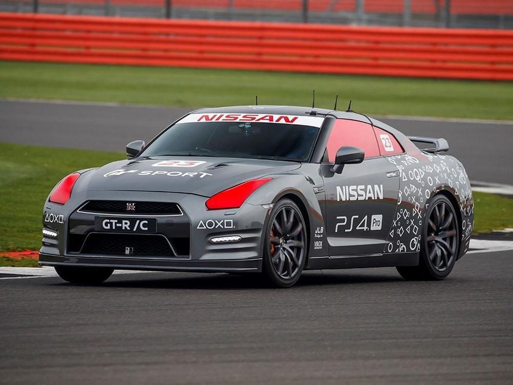 Bild zu Ferngesteuerter Nissan GT-R