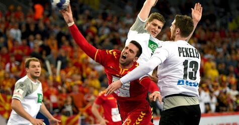 Handball EM, Deutschland, Makedonien, Remis