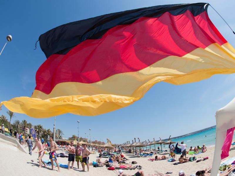 Bild zu Deutsche im Urlaub