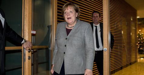 Spitzentreffen Union und SPD