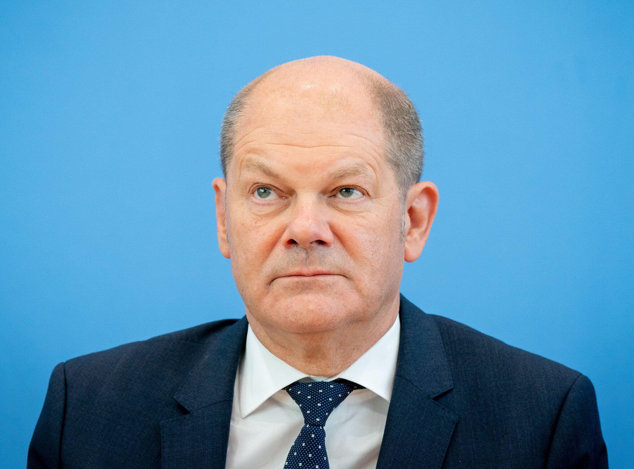 Bild zu Candidates for SPD chairmanship - Scholz