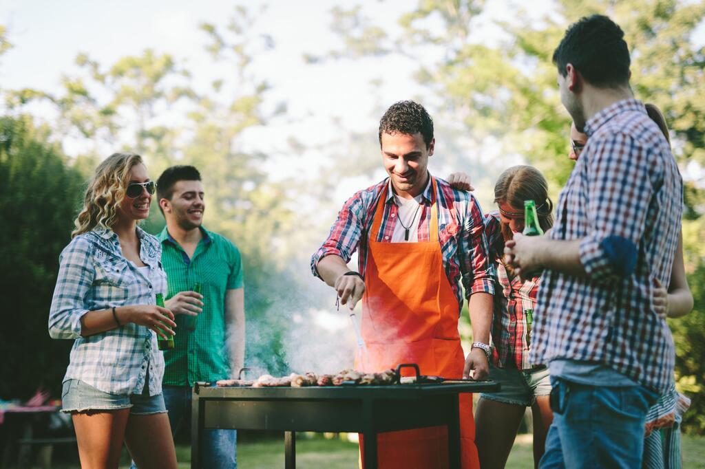 grillen, Technik, Grill, Männer, Technologie, Thermometer, fleisch, smart home