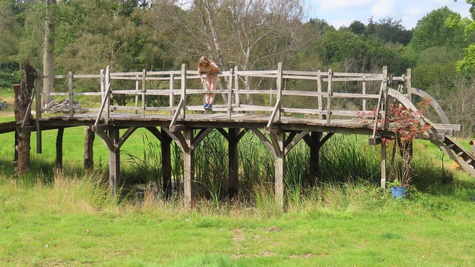 Winnie-Pooh-Brücke in England versteigert