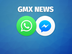 GMX News per WhatsApp oder Facebook Messenger
