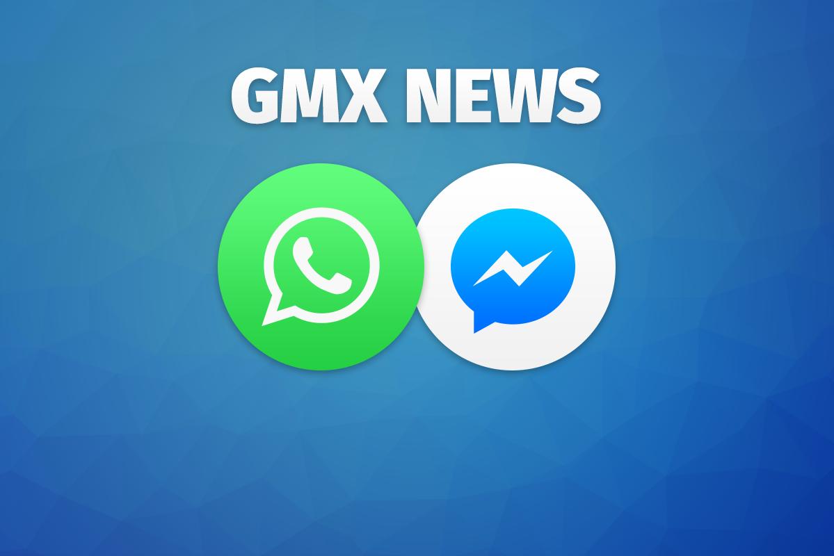Bild zu GMX News per WhatsApp oder Facebook Messenger