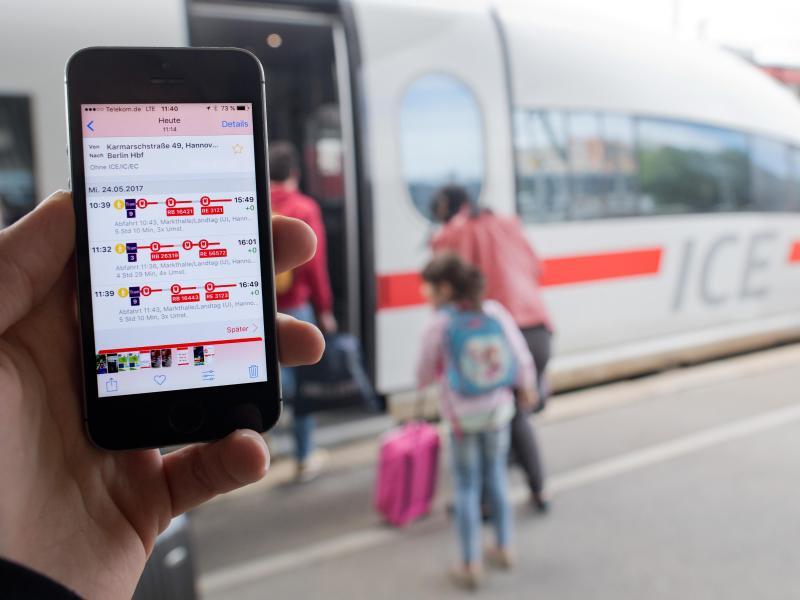 Bild zu App DB-Streckenagent