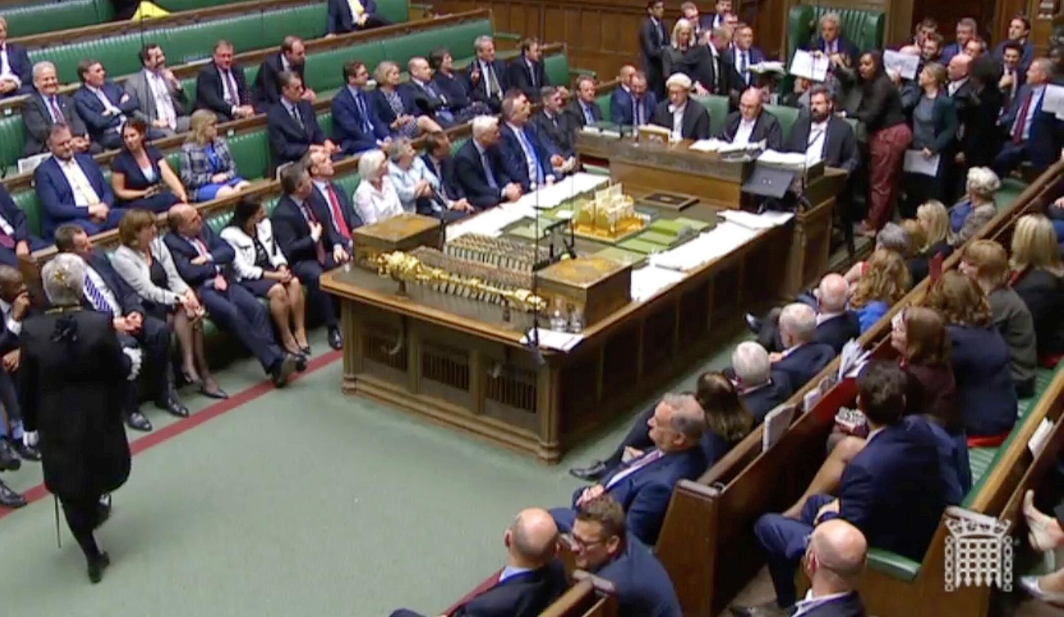 Bild zu Zwangspause für britisches Parlament ab Montagabend