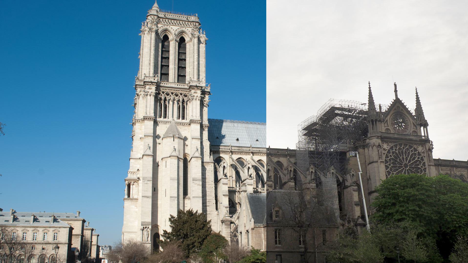 Bild zu Notre-Dame: Vorher & Nachher