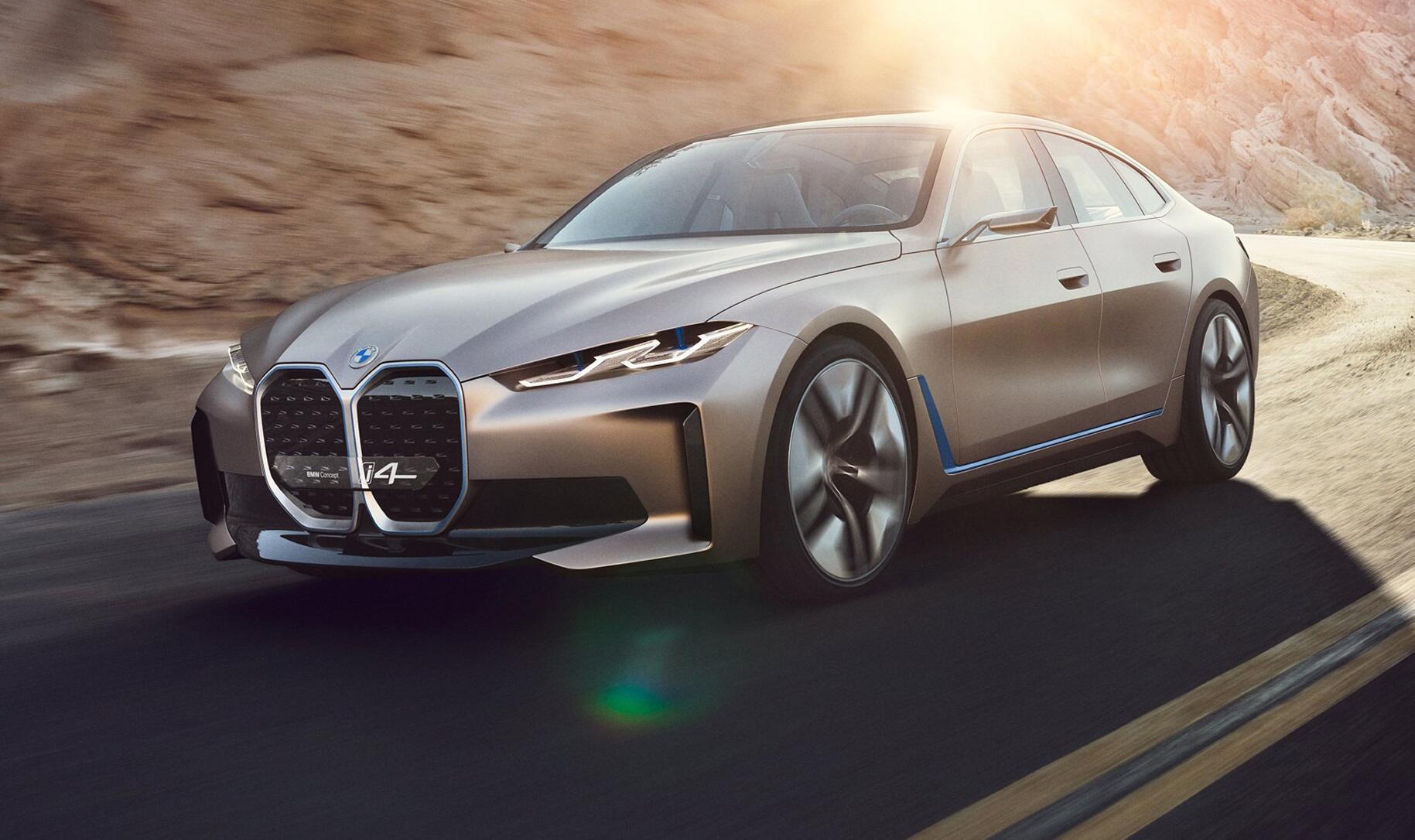 Bild zu BMW präsentiert Elektroauto i4 mit 600 Kilometer Reichweite