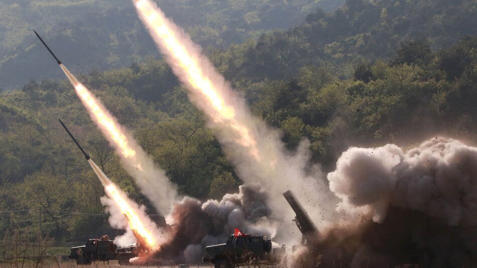 Nordkorea setzt Waffentests fort