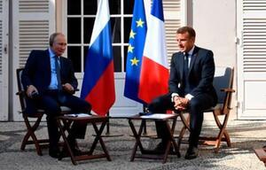 Putin und Macron