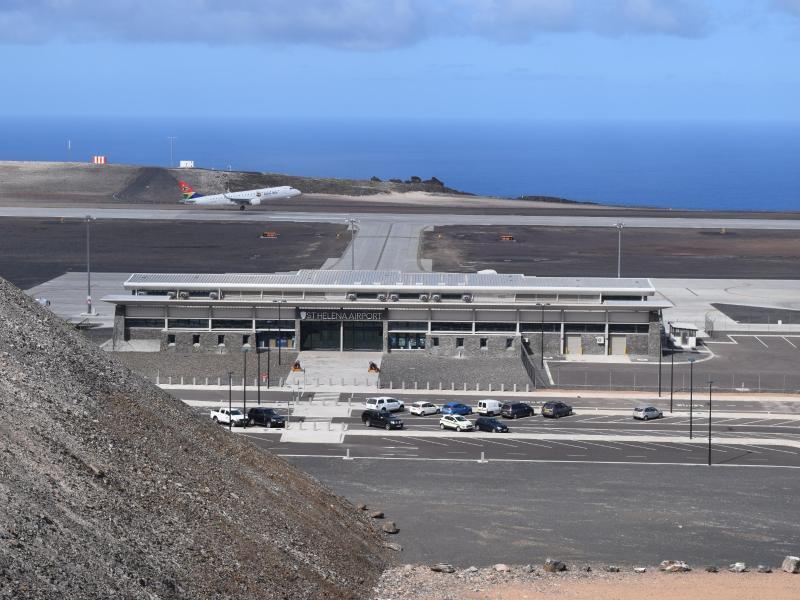 Bild zu Neuer Flughafen auf St. Helena