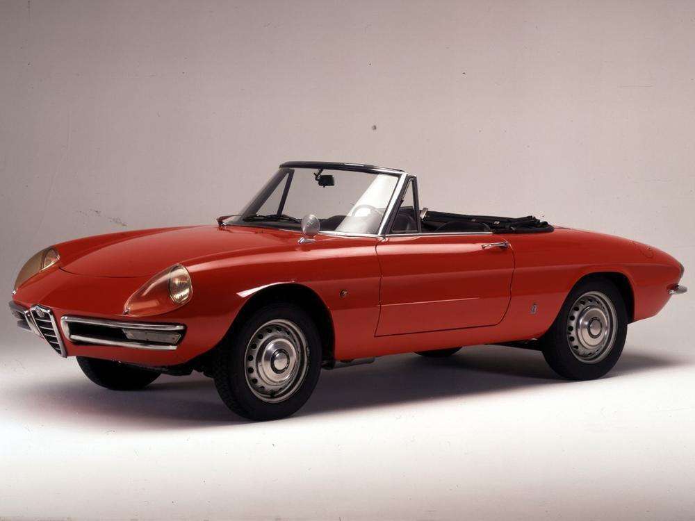 Bild zu Alfa Romeo Spider Duetto
