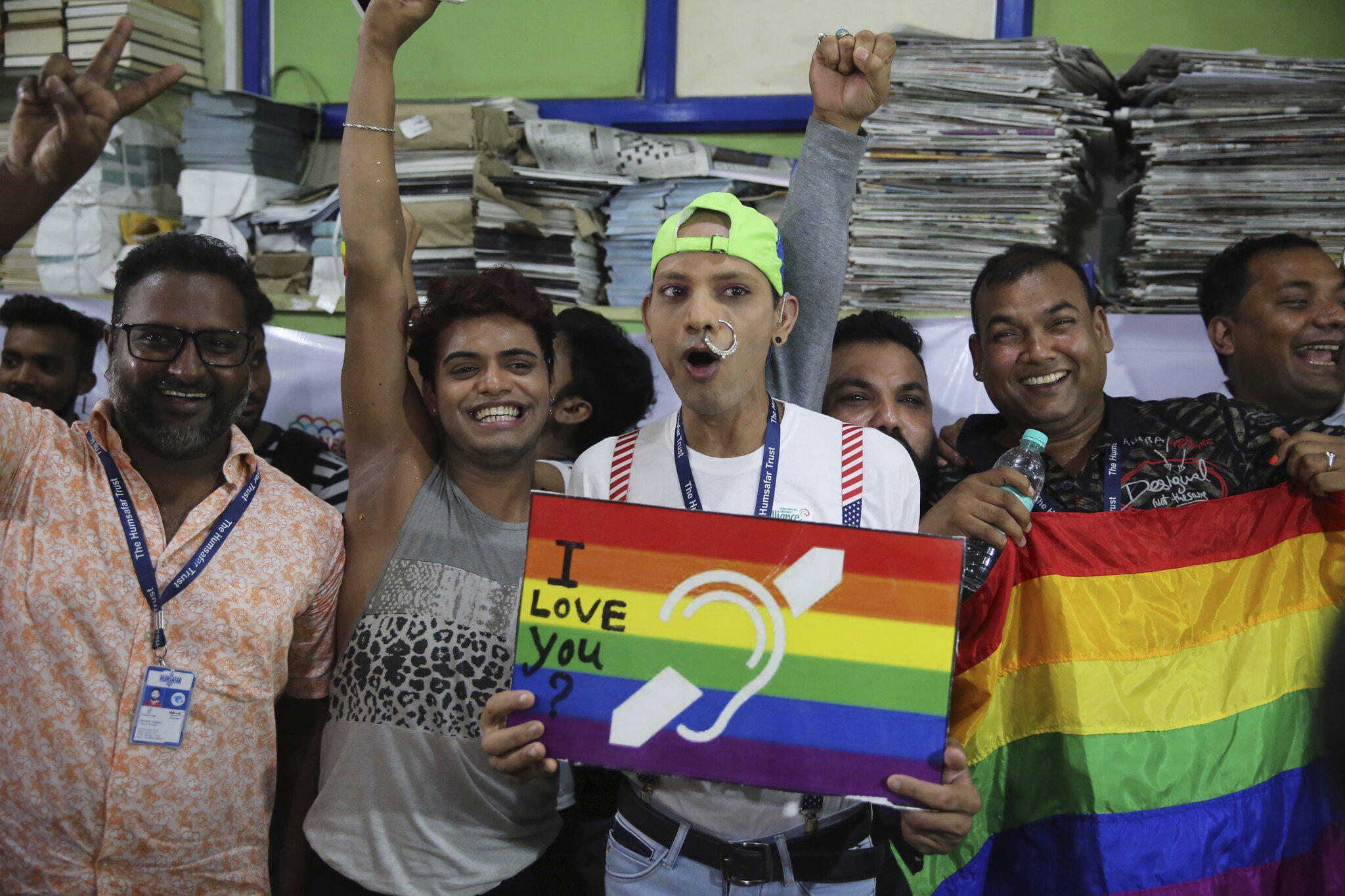 Bild zu Sex von Homosexuellen in Indien nicht mehr strafbar