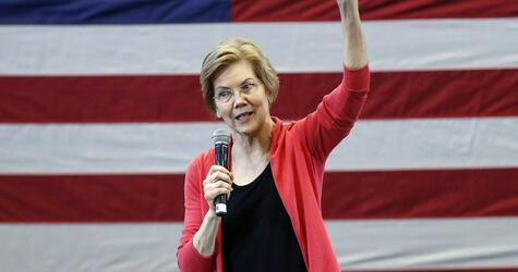 US, Präsidentschaftskandidatur, Elizabeth Warren, Donald Trump