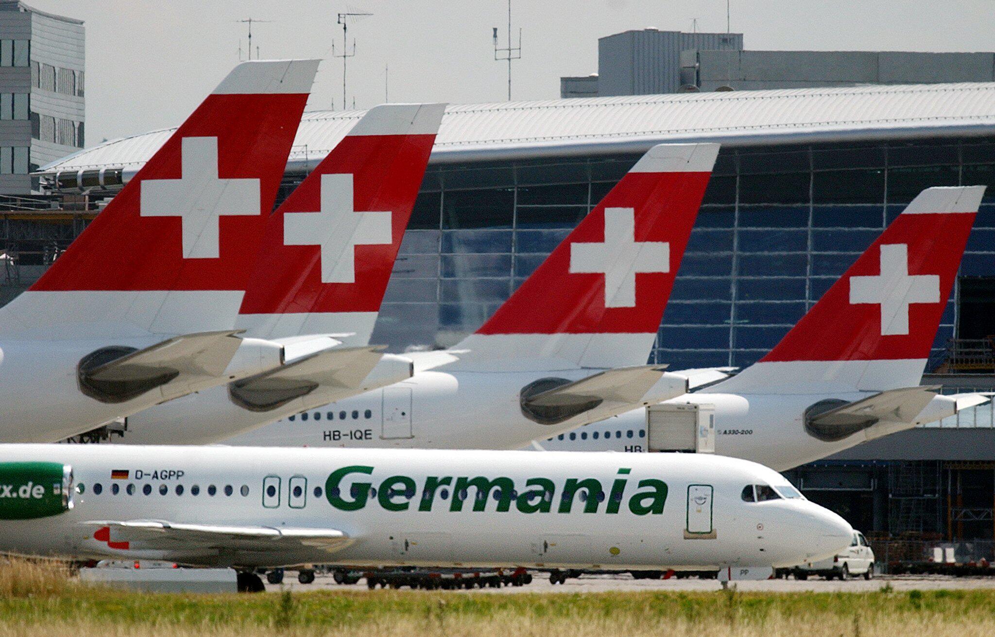 Bild zu Germania, Airline, Fluggesellschaft, Schweiz, Glattbrugg, Zürich