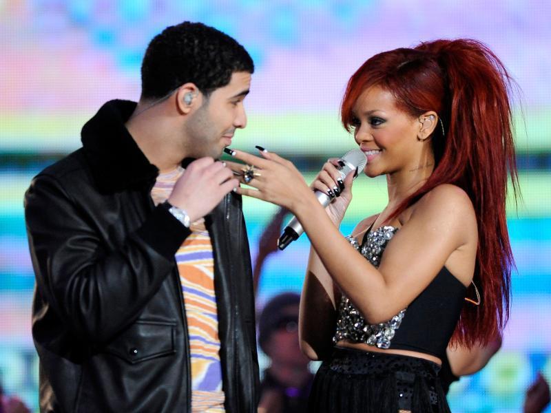 Bild zu Drake und Rihanna