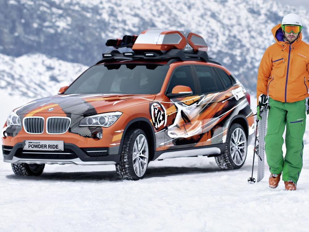 Bild zu BMW X1 Edition Powder Ride