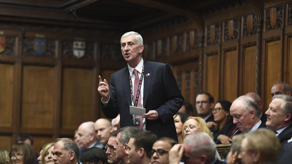 Britisches Unterhaus wählt neuen Präsidenten