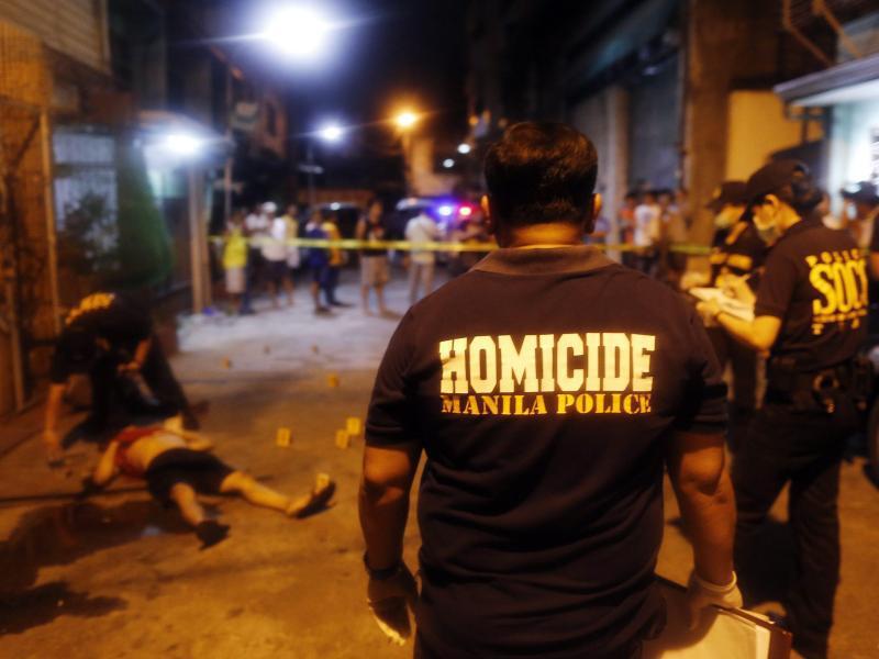 Bild zu Einsatz in Manila