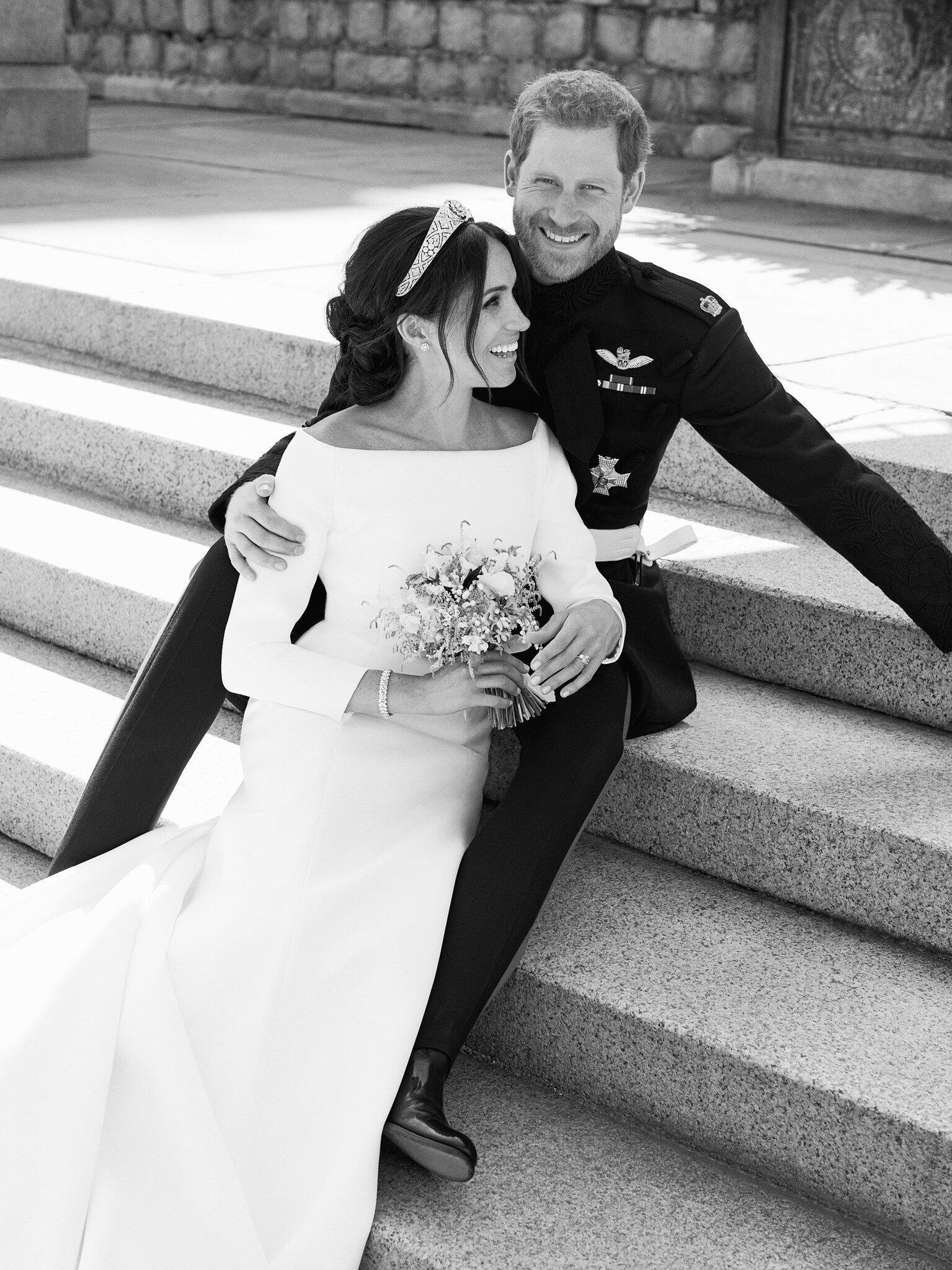 Bild zu Offizielle Hochzeitsbilder von Prinz Harry und Meghan