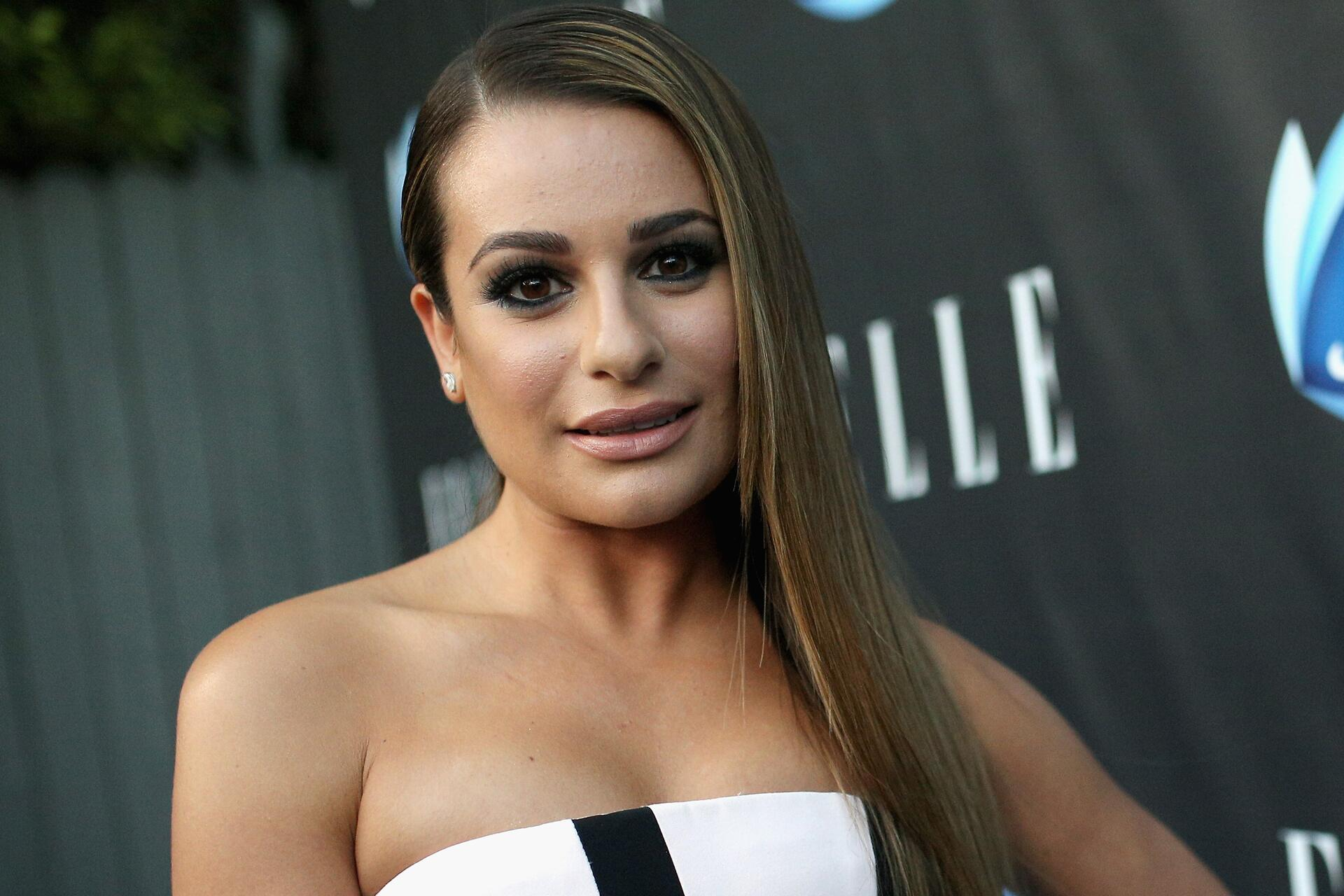 Lea Michele Kicks Off The New Year With A Cheeky Nude