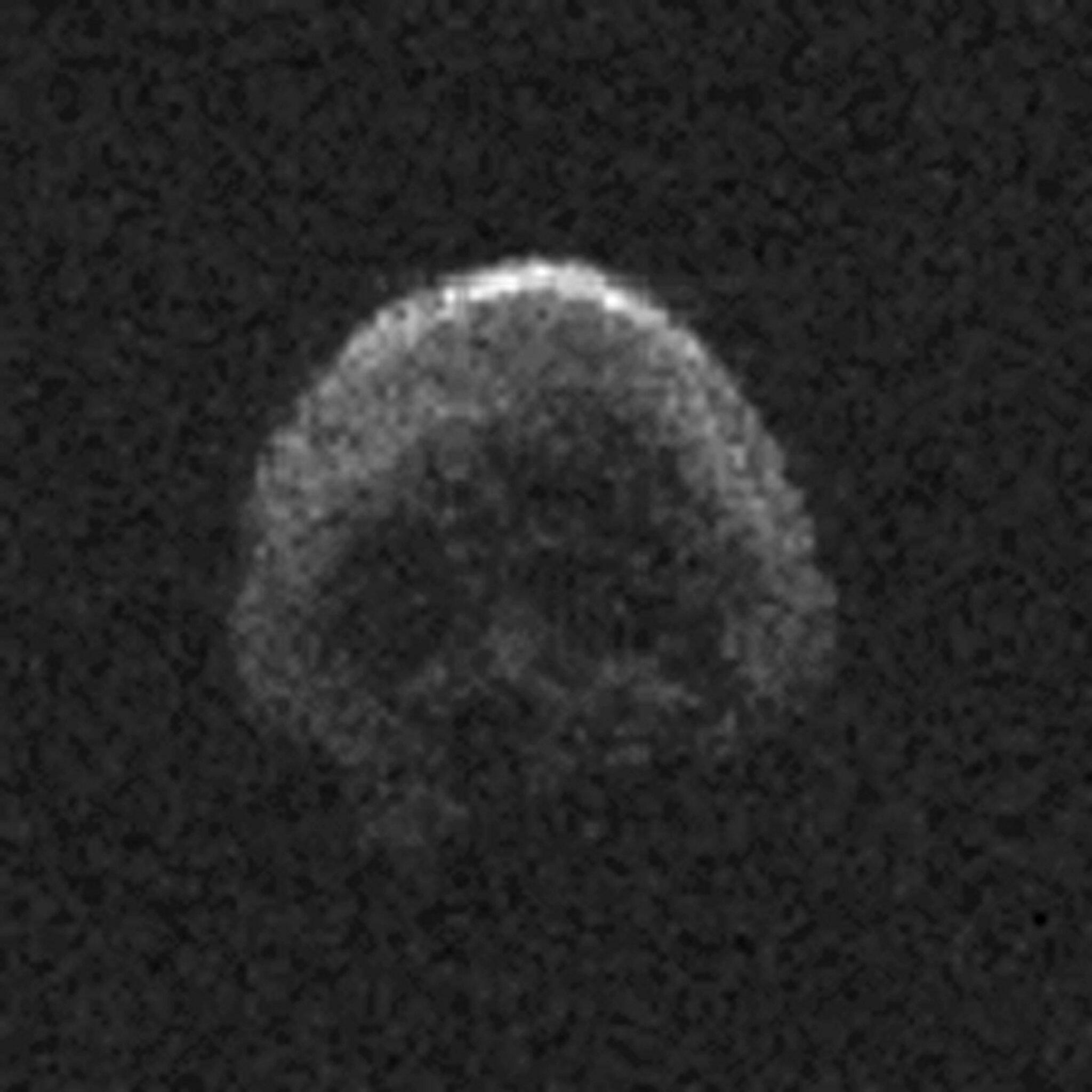 """Bild zu """"Totenkopf-Asteroid"""""""