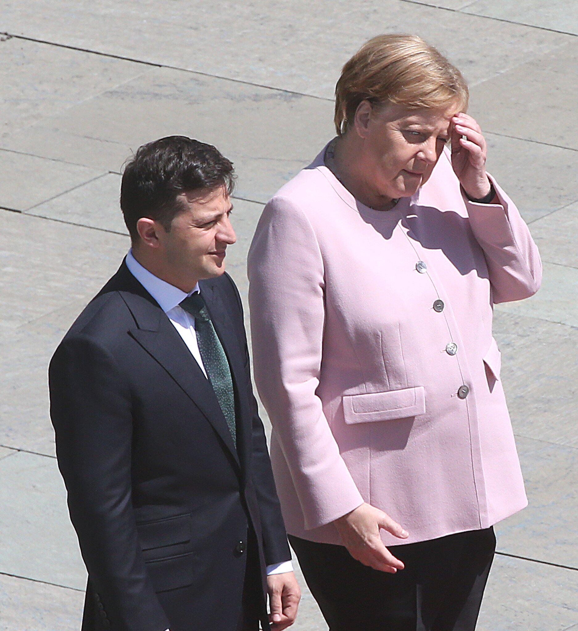 Bild zu Ukrainischer Präsident Selensky in Berlin