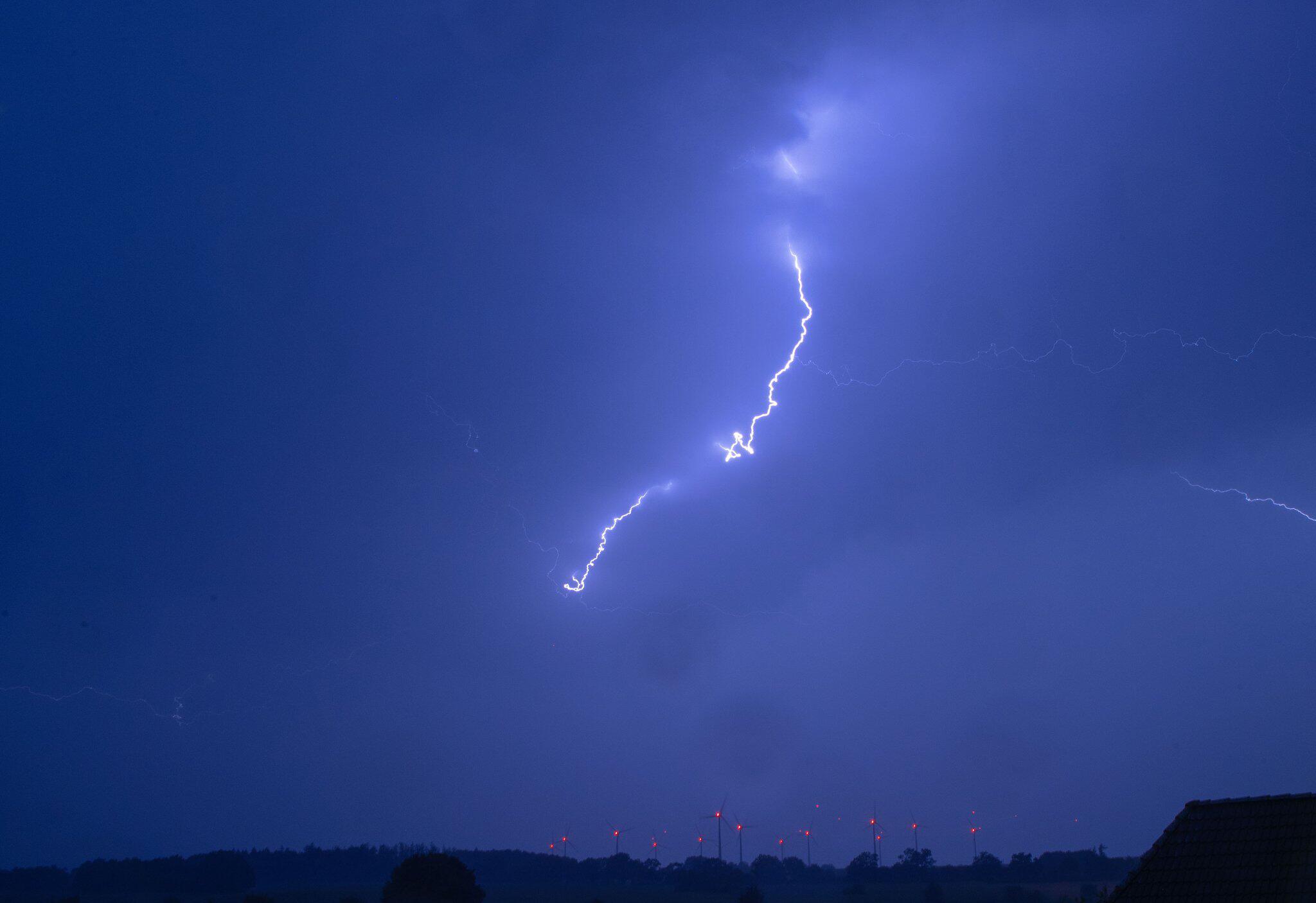 Bild zu Gewitter über Norddeutschland
