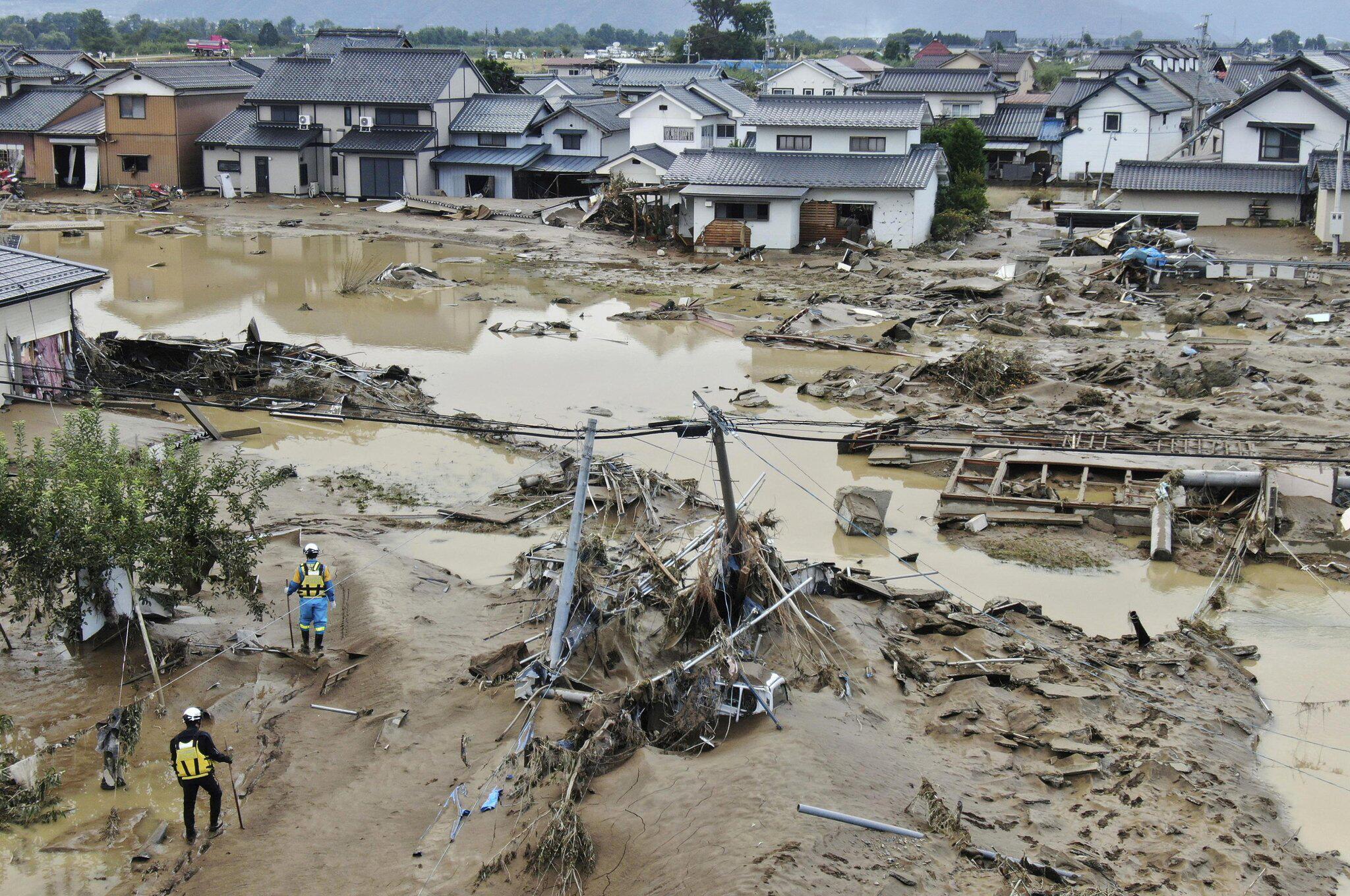 Bild zu Nach dem Taifun «Hagibis» in Japan