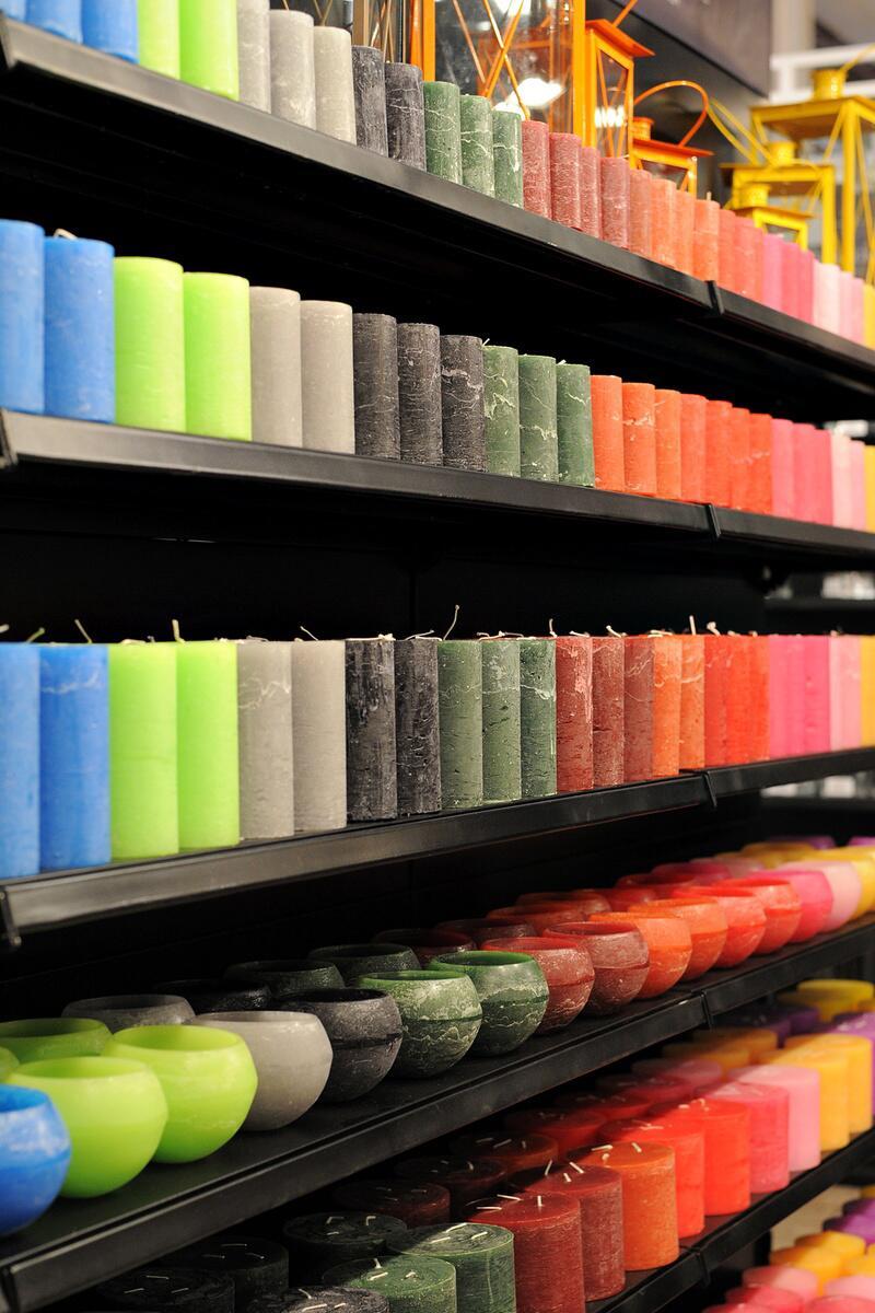 Bild zu Kerzen in allen Farben und Formen