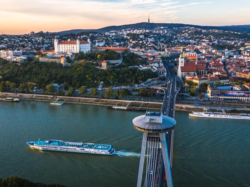 Bild zu Hauptstadt der Slowakei Bratislava