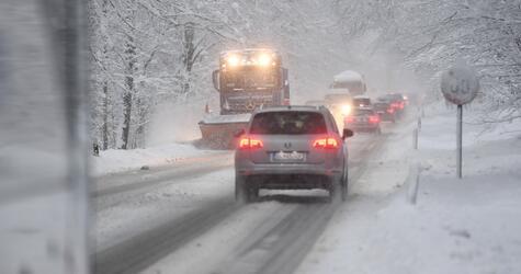 Winter sets in in Bavaria