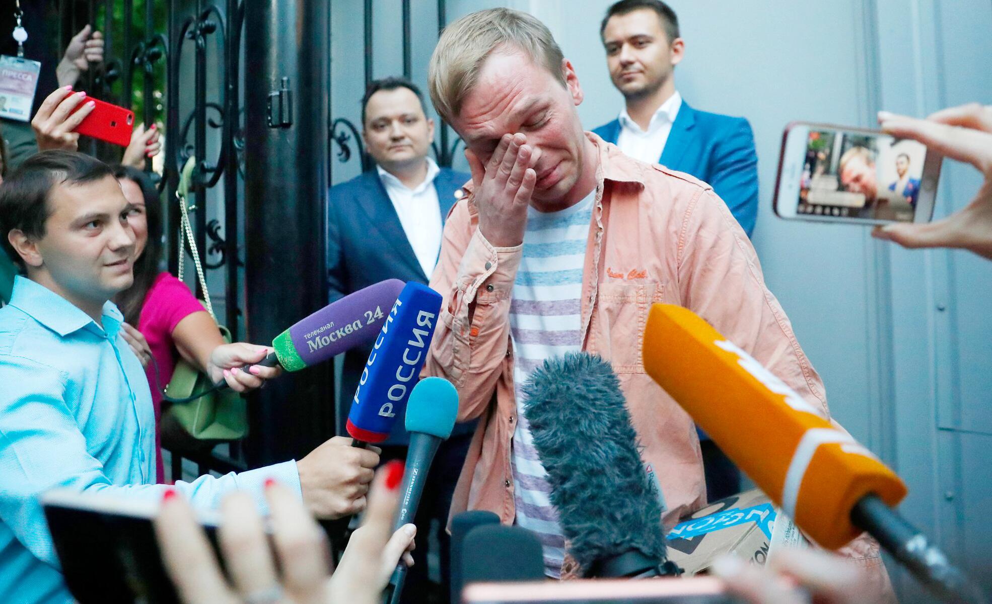 Bild zu Russischer Enthüllungsjournalist kommt auf freien Fuß