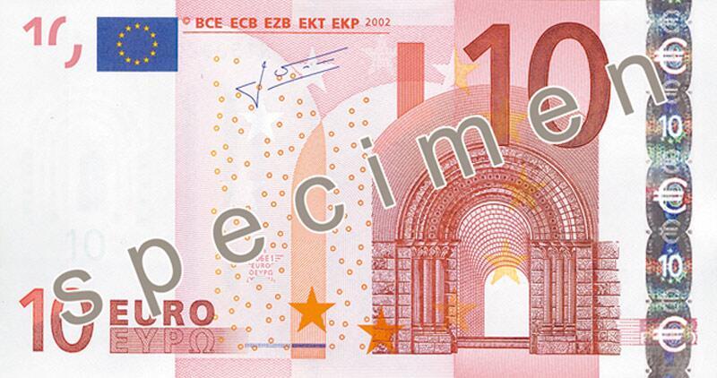 Bild zu 10-Euro-Schein