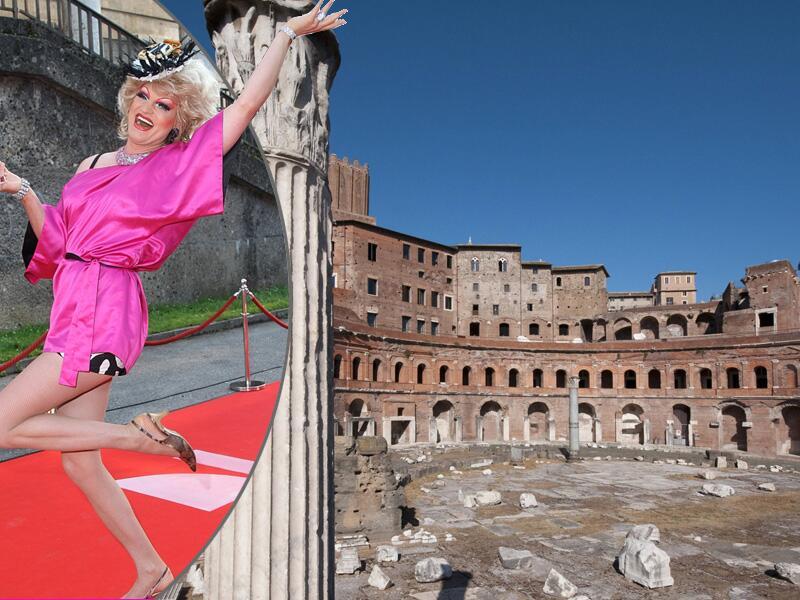 Bild zu Olivia Jones und Forum Romanum