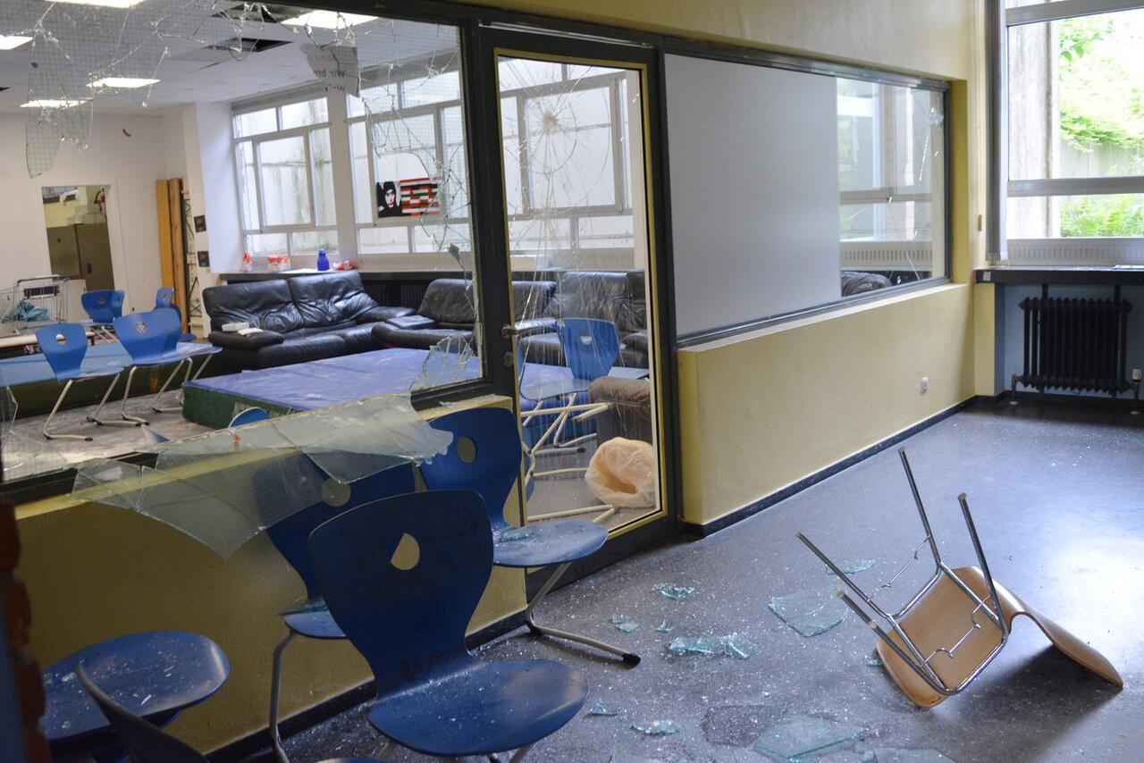 Bild zu Vandalismus in Schule